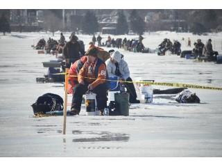 Правила безопасности во время рыбалки на льду