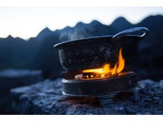 Что выбрать для похода – газовую горелку или печь-щепочницу?